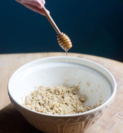 rosemary honey oatcakes burn night pinhead oats writing