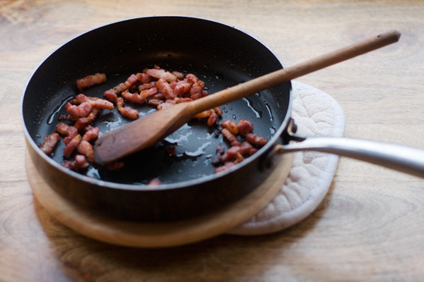 bacon bread welsh rarebit lardons pancetta malthouse flour